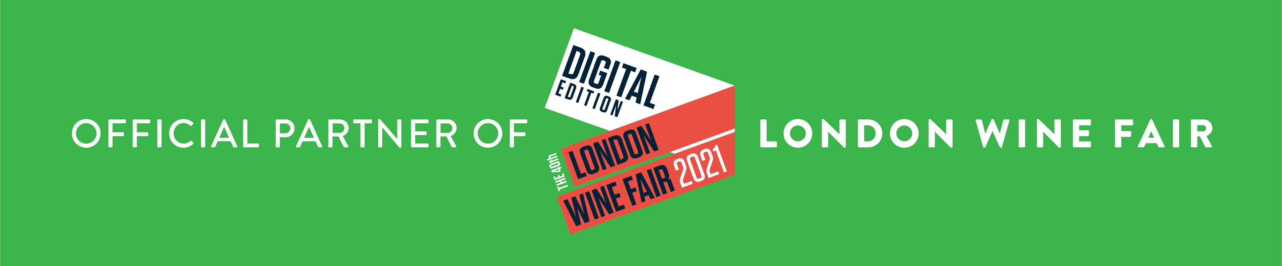 Official partner of London Wine Fair